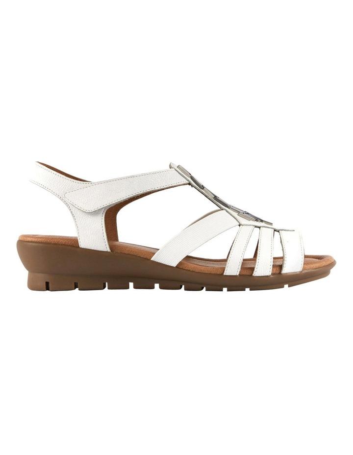 4913e511a931 Supersoft by Diana Ferrari Fleet White Sandal image 1
