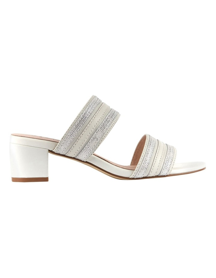 Cher Ivory/Metallic Sandal image 1
