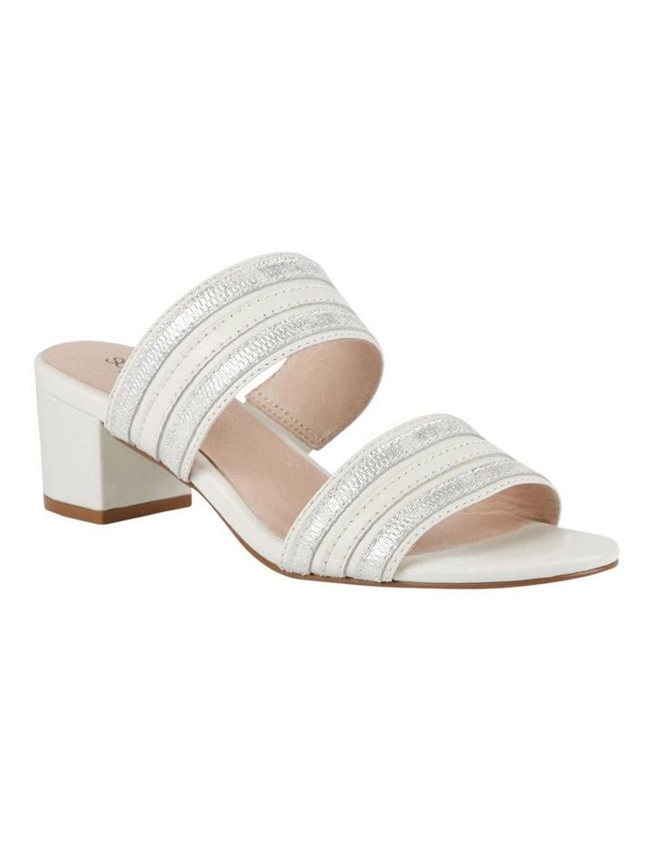 Cher Ivory/Metallic Sandal image 2