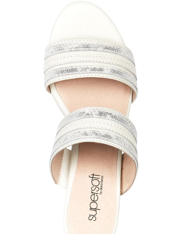 Cher Ivory/Metallic Sandal image 3