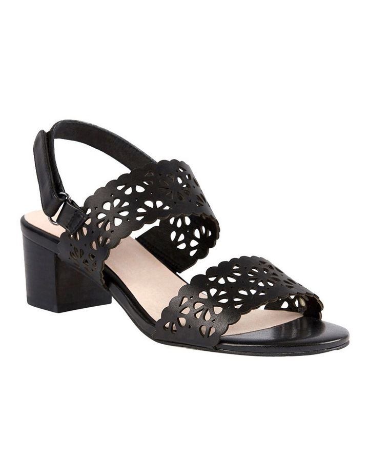 Supersoft by Diana Ferrari Cacey Black Sandal image 3