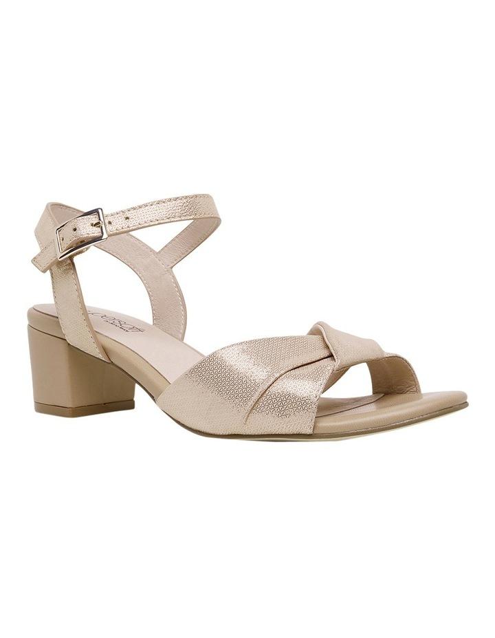 Cleantha Blush Metallic Sandal image 2
