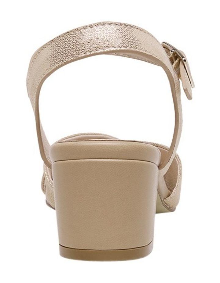 Cleantha Blush Metallic Sandal image 3