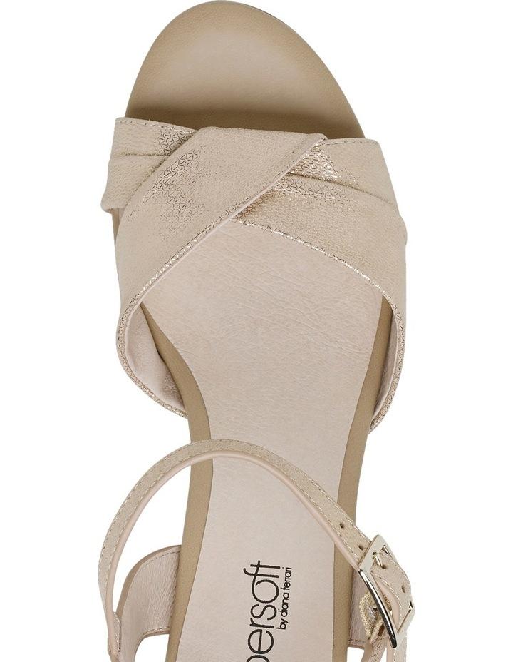 Cleantha Blush Metallic Sandal image 4