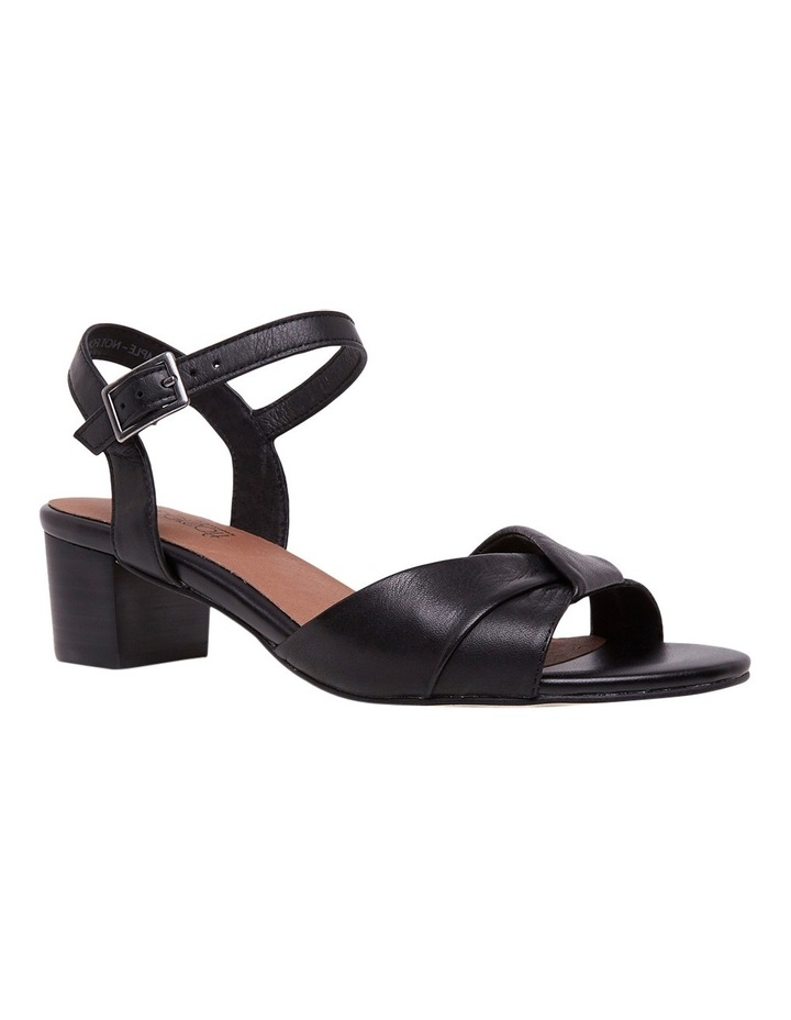 Cleantha 2 Black Sandal image 3