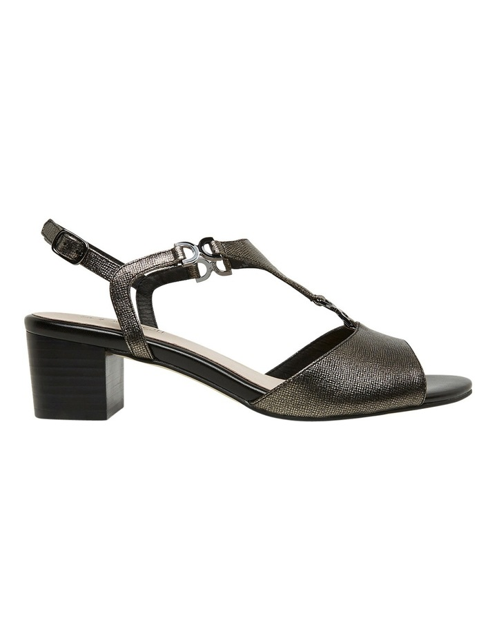 Cosmia Black Metallic Sandal image 1