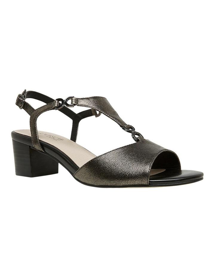 Cosmia Black Metallic Sandal image 3
