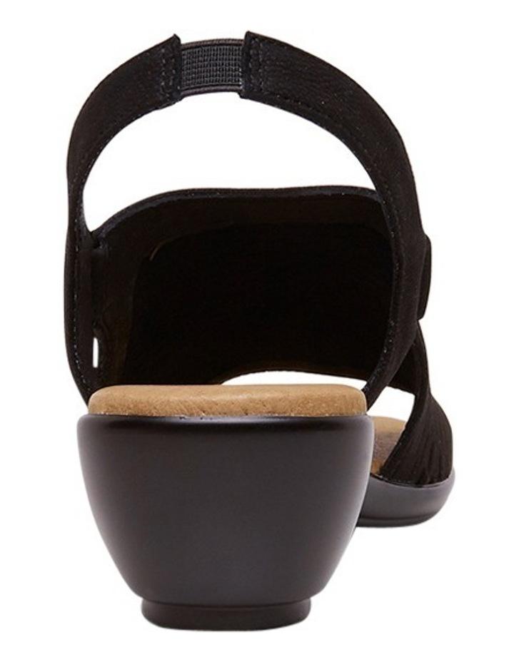 Debs Black Sandal image 3