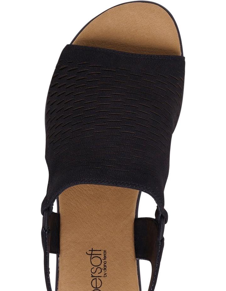 Debs Black Sandal image 4