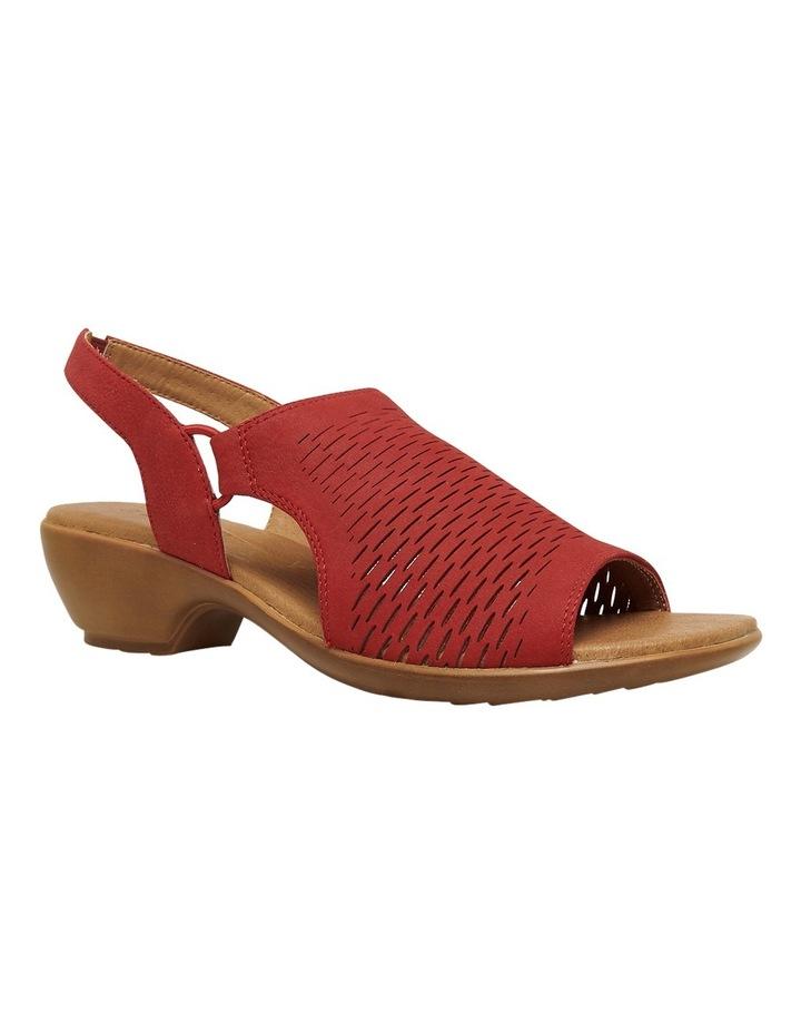 Debs Red Sandal image 2