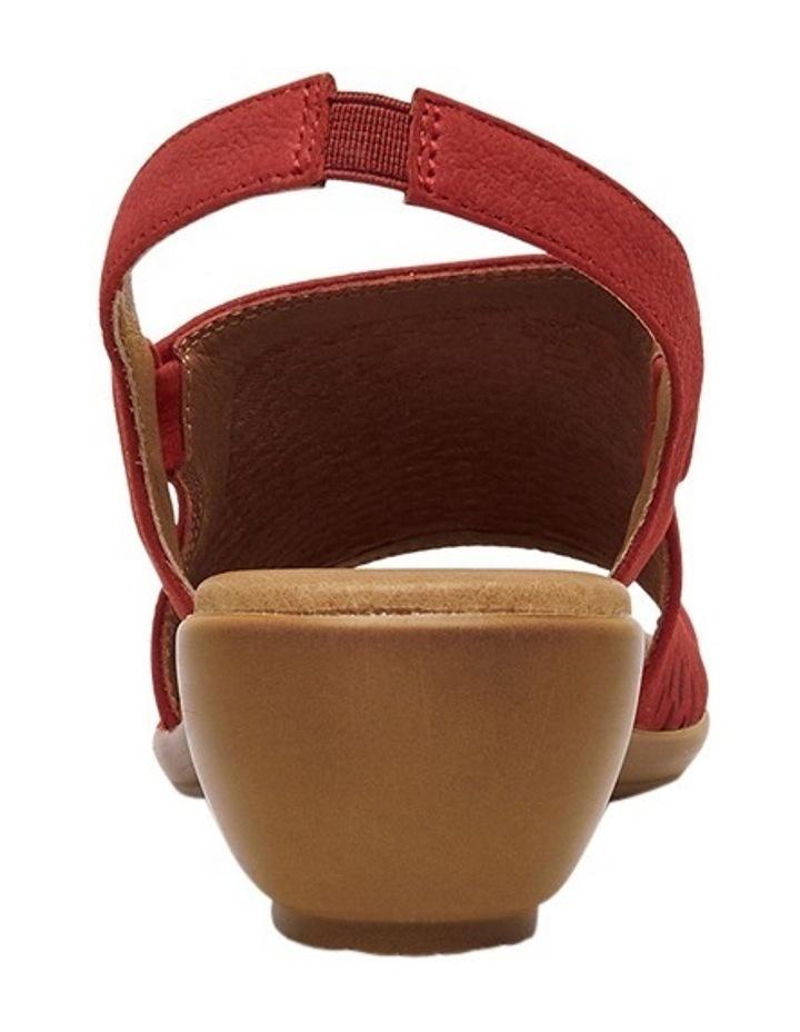 Debs Red Sandal image 3