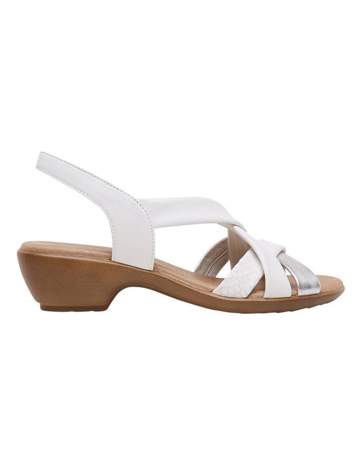 Demala White Multi Sandal image 1