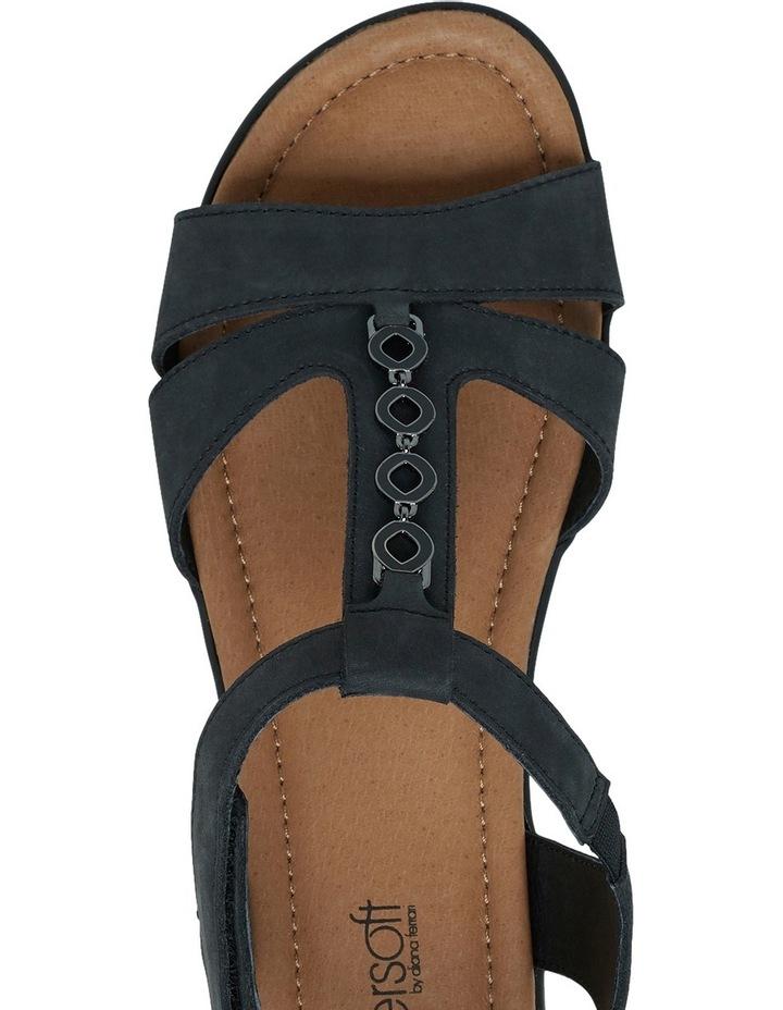 Ferraro Charcoal Nap Sandal image 7