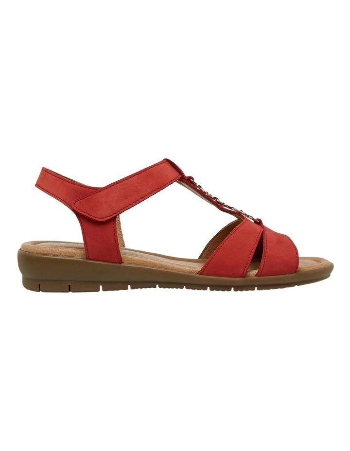 Ferraro Dark Red Nap Sandal image 1