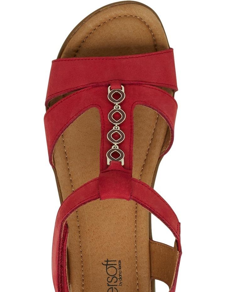 Ferraro Dark Red Nap Sandal image 7