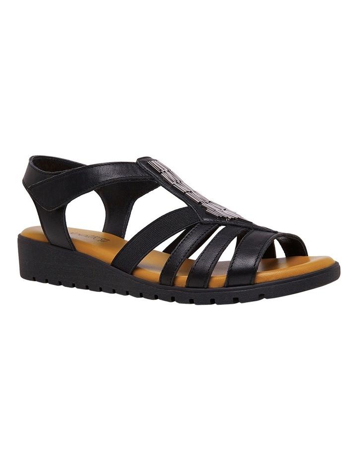 Hutchins Black Sandal image 2