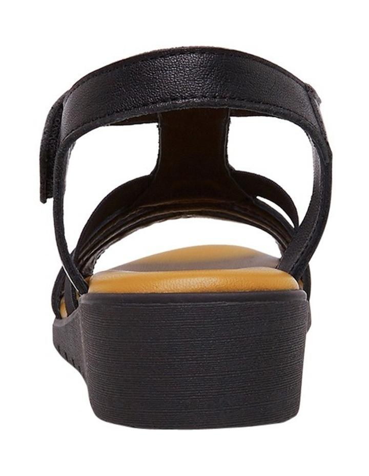 Hutchins Black Sandal image 3