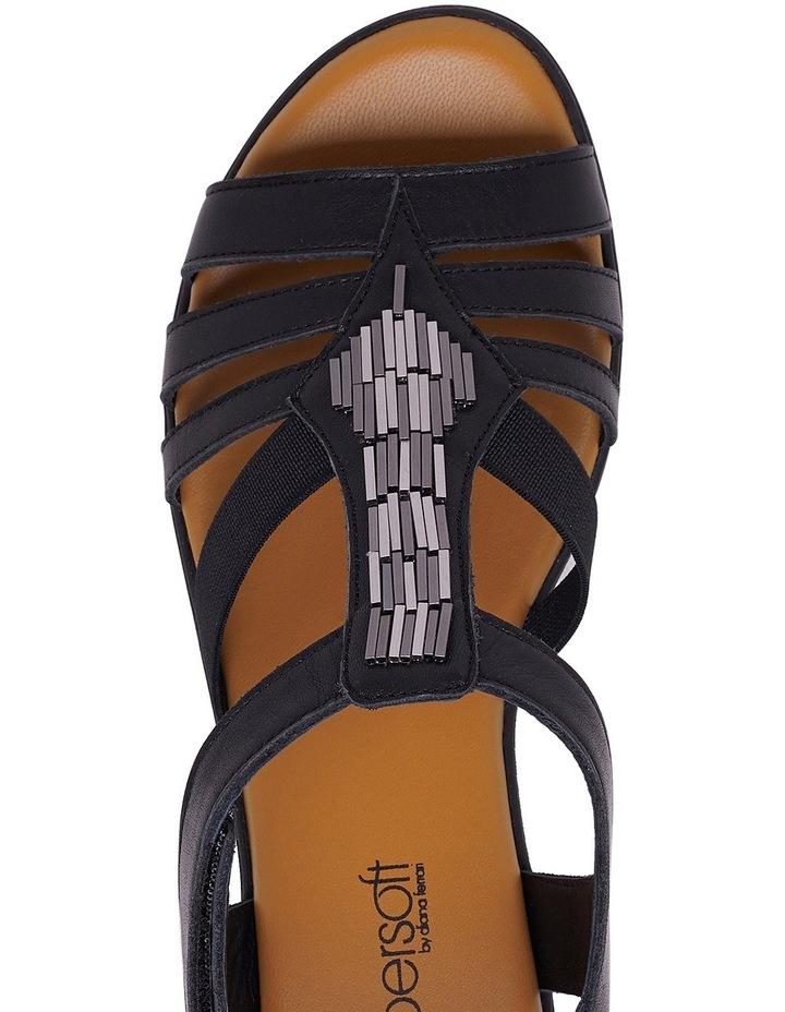 Hutchins Black Sandal image 4