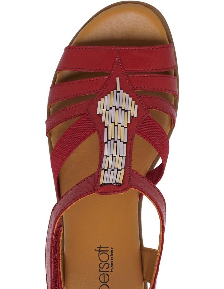 Hutchins Red Sandal image 4