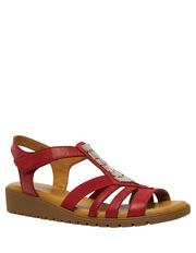 D.F.Supersoft - Hutchins Red Sandal