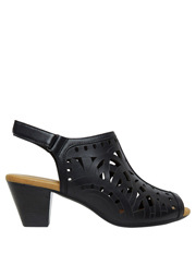 D.F.Supersoft - Iverson Black Sandal