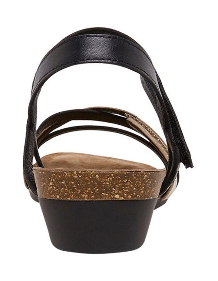 Queisha Black Multi Sandal image 6