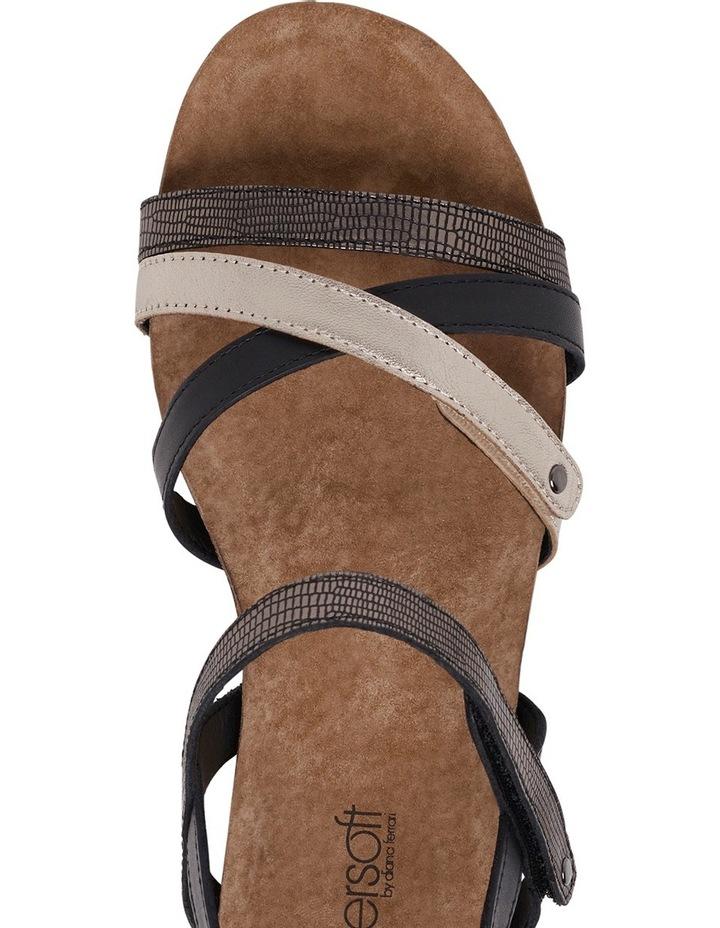 Queisha Black Multi Sandal image 8
