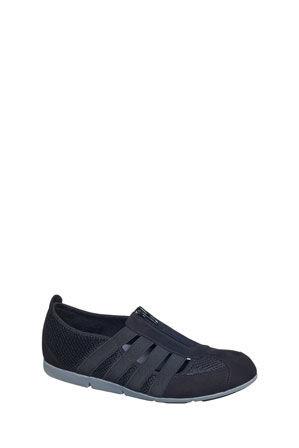 Supersoft by Diana Ferrari - Scottie Black Sneaker