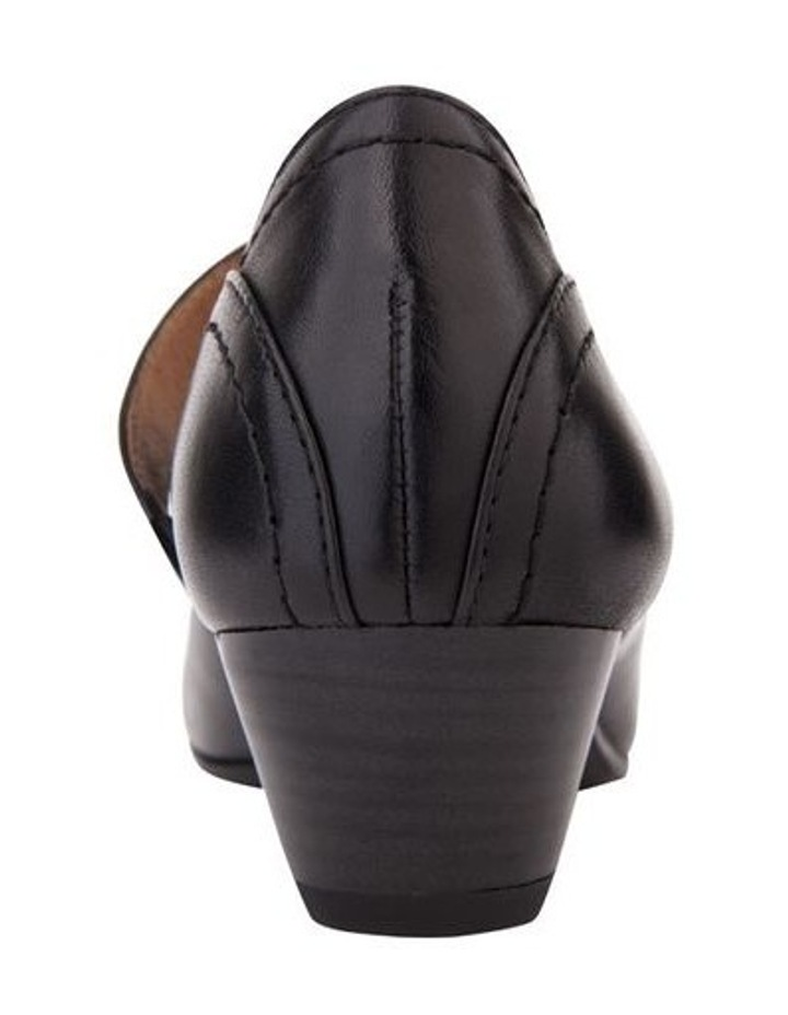 Appeal Black Glove Heeled Shoes image 5