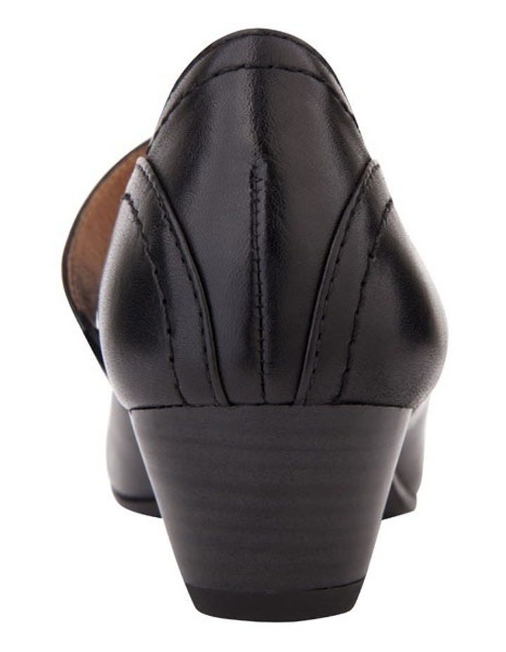 Appeal Black Glove Heeled Shoes image 6