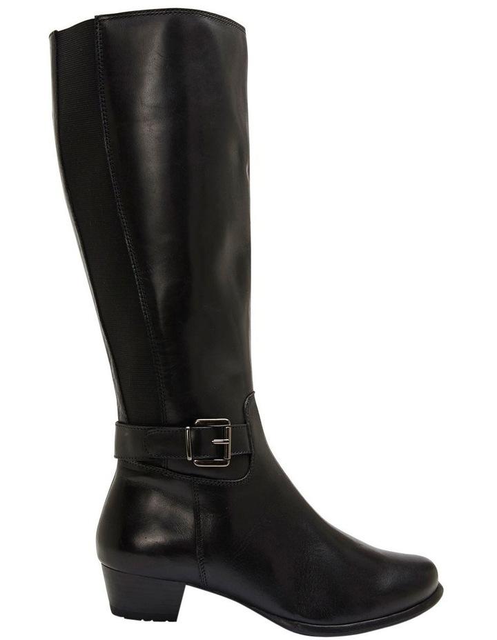 Diego Black Glove Knee Boot image 1