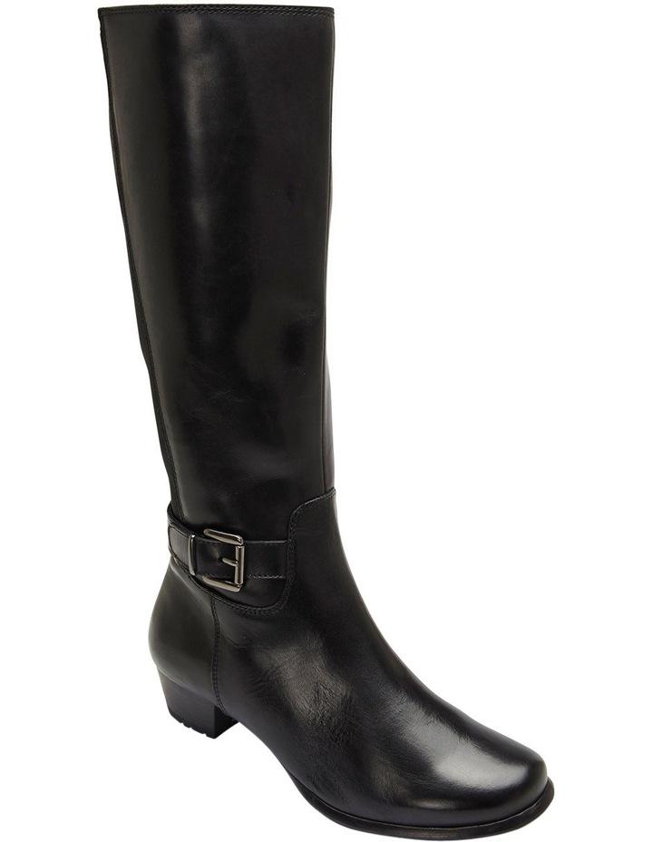 Diego Black Glove Knee Boot image 4