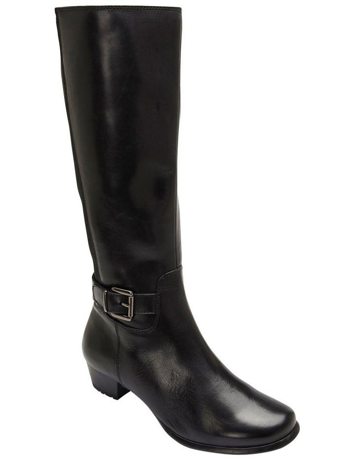 Diego Black Glove Knee Boot image 3