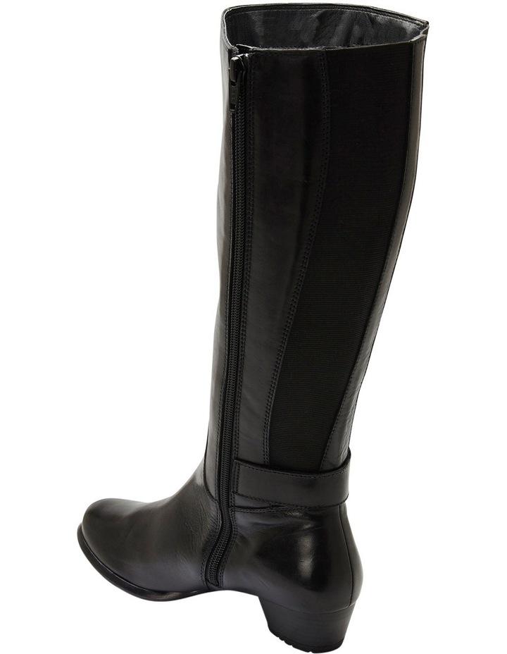 Diego Black Glove Knee Boot image 6