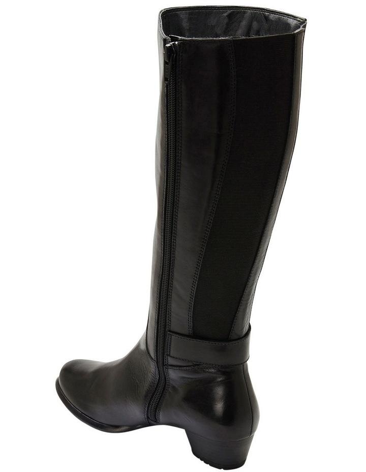 Diego Black Glove Knee Boot image 5
