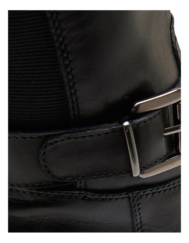 Diego Black Glove Knee Boot image 9