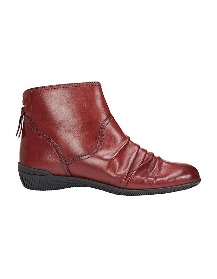 Waltz pleated leather red glove boot image 1