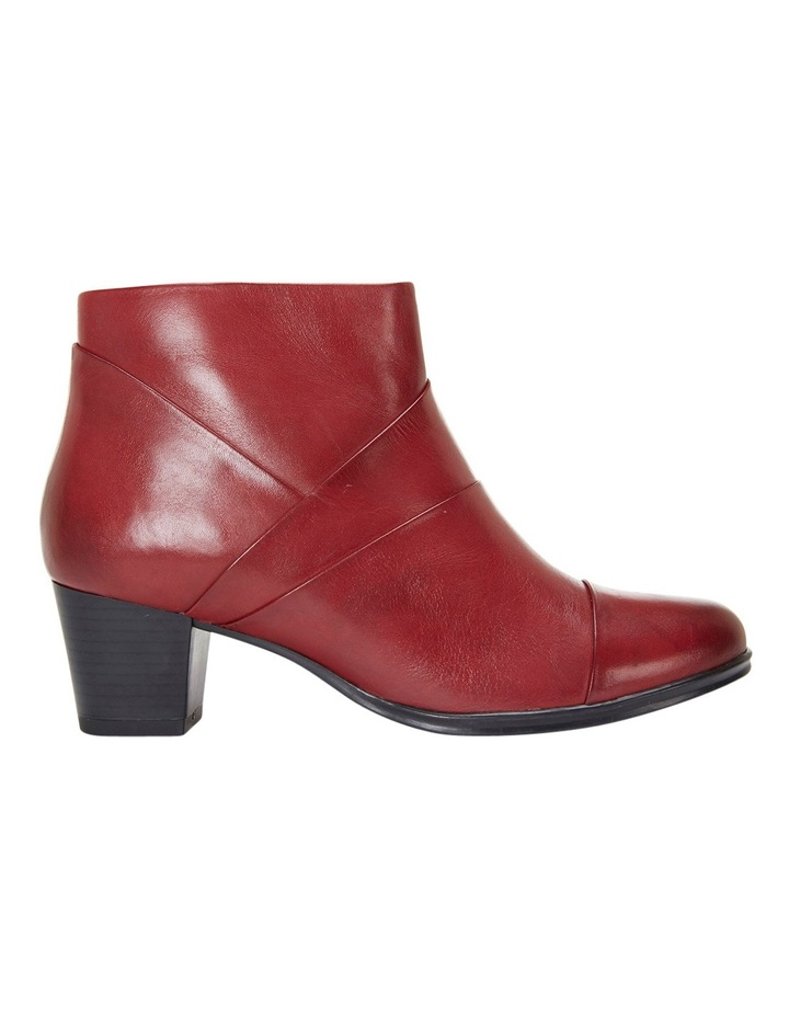 Marvin Pleated Leather Red Glove Boot image 1