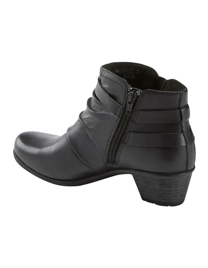 Michelle Black Leather Boot image 2