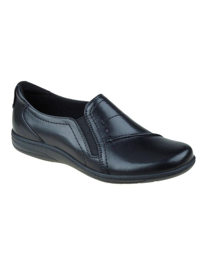 Jemima Black Flat Shoes image 3