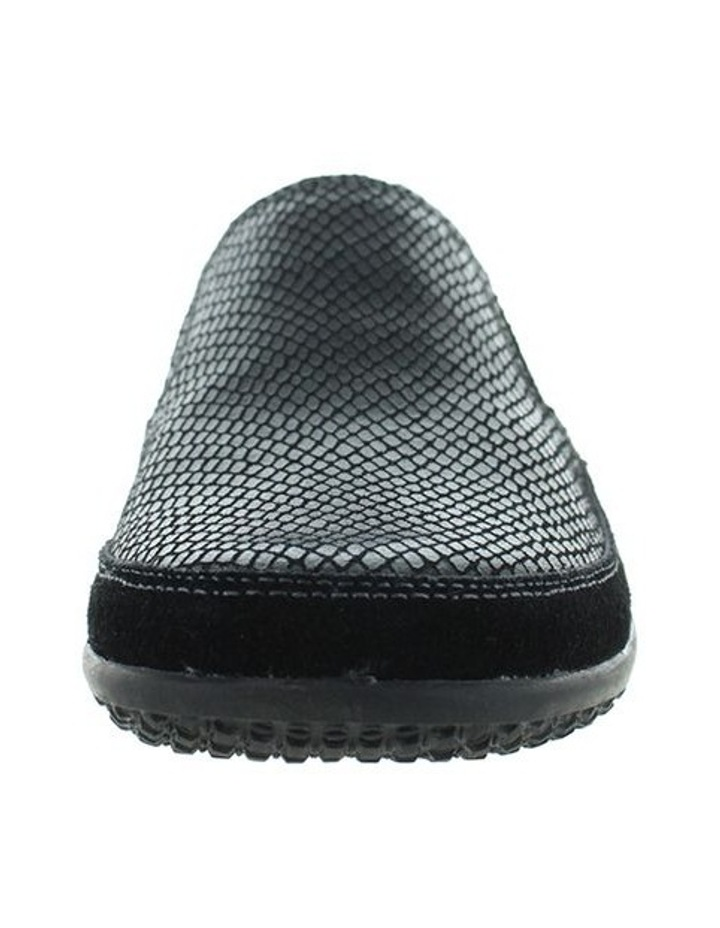 Just Bee Clarice Black Lizard Loafer image 3