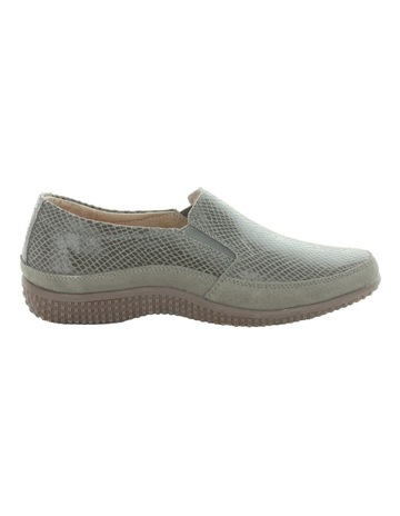 74772dfbfb664a Just BeeJust Bee Clarice Pewter Lizard Loafer. Just Bee Just Bee Clarice  Pewter Lizard Loafer