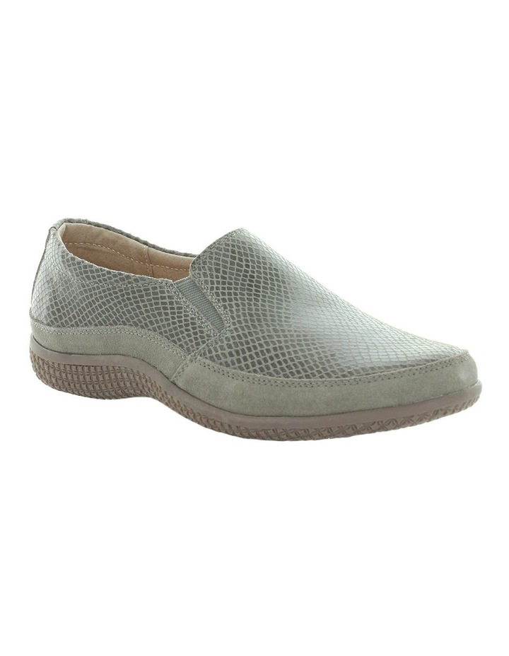 Just Bee Clarice Pewter Lizard Loafer image 2