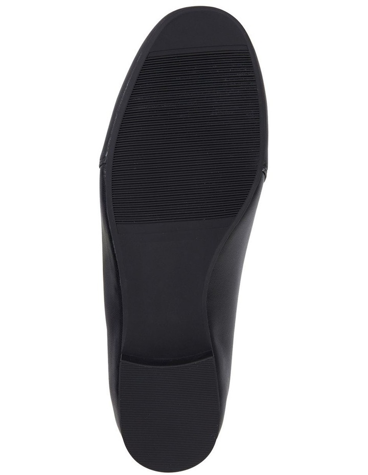 Castle Black Glove Flat Shoe image 6