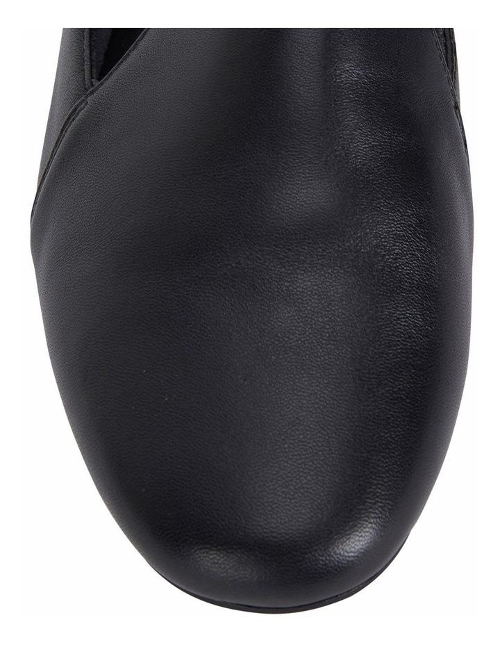 Castle Black Glove Flat Shoe image 7