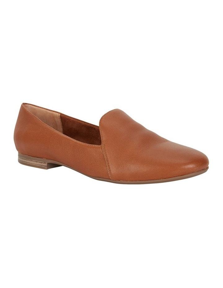 Castle Cognac Glove Flat Shoe image 2