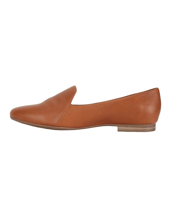 Castle Cognac Glove Flat Shoe image 3