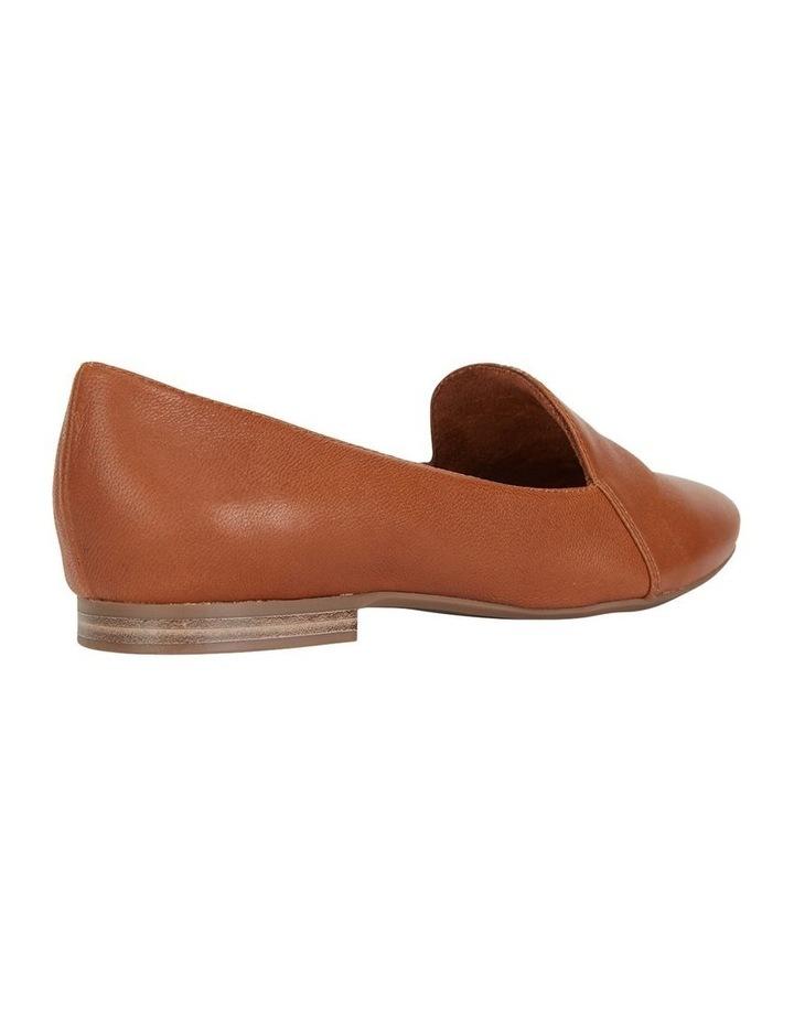 Castle Cognac Glove Flat Shoe image 4