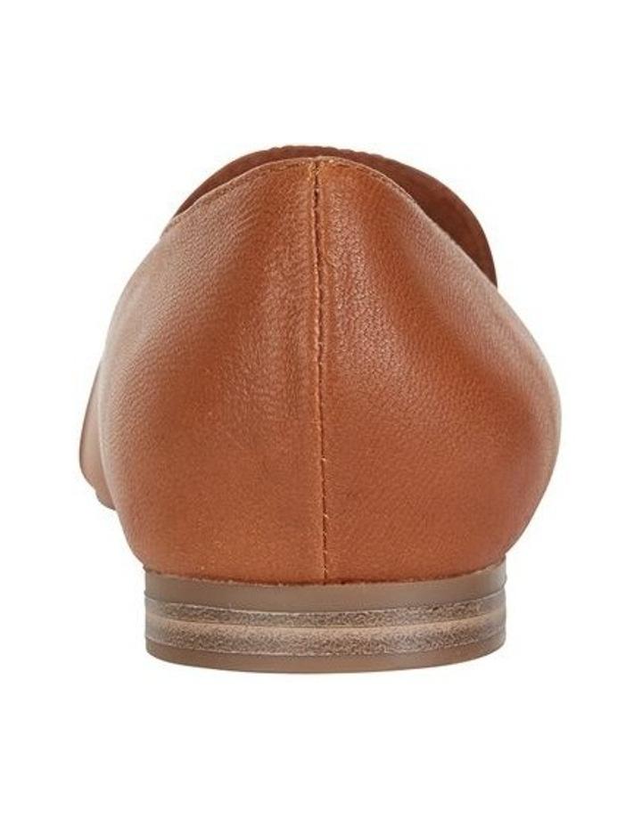 Castle Cognac Glove Flat Shoe image 5