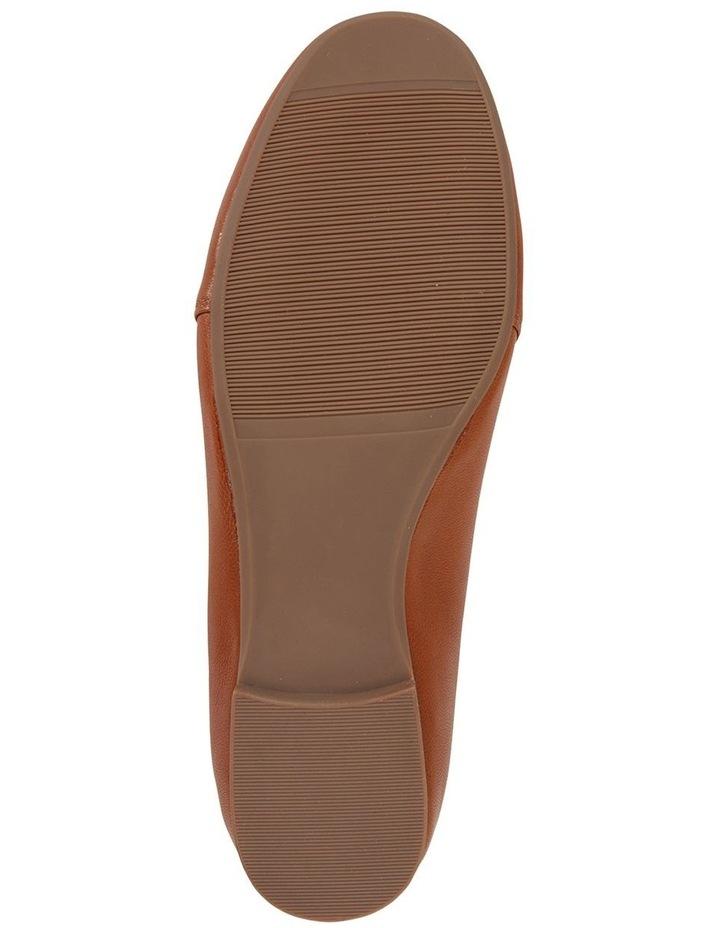 Castle Cognac Glove Flat Shoe image 6